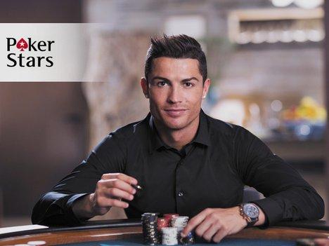 звезди в покера Кристияно Роналдо